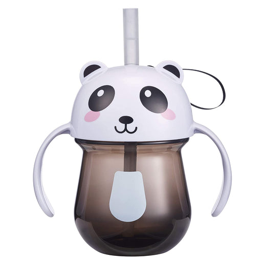 Animal Character Straw Trainer Cup 7 Oz - Panda - Preggy Plus