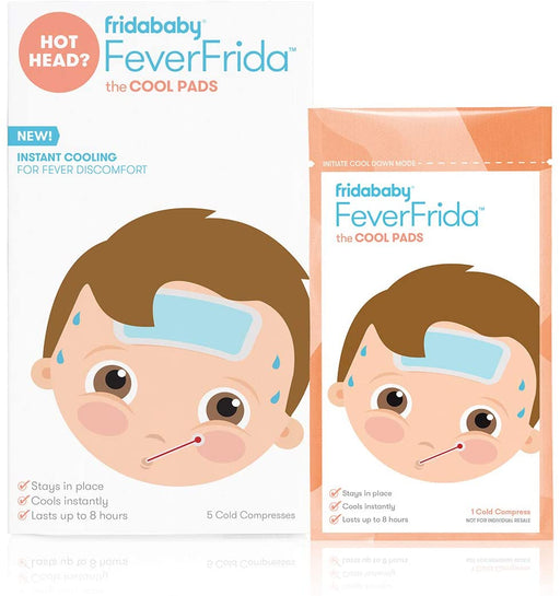 Fridababy FeverFrida THE COOL PADS - 5 Count - Preggy Plus