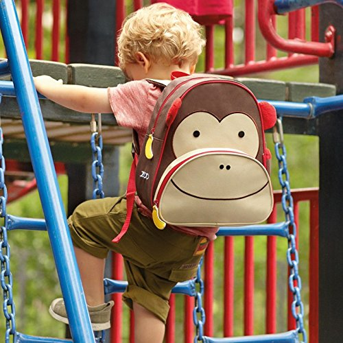 Skip Hop Zoo Little Kid Backpack, Monkey - Preggy Plus