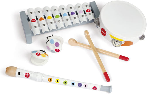 Janod Musical Instrument Set (Wood) - Preggy Plus