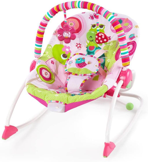 Bright Starts Infant To Toddler Rocker - Raspberry Garden™ - Preggy Plus