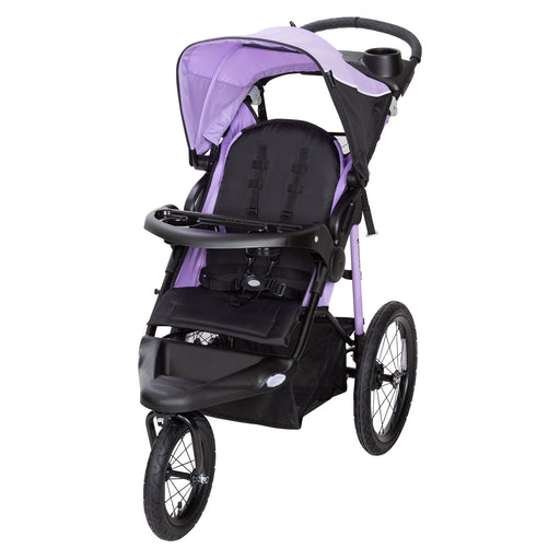 Baby Trend Xcel R8 Jogger Stroller, Thistle - Preggy Plus
