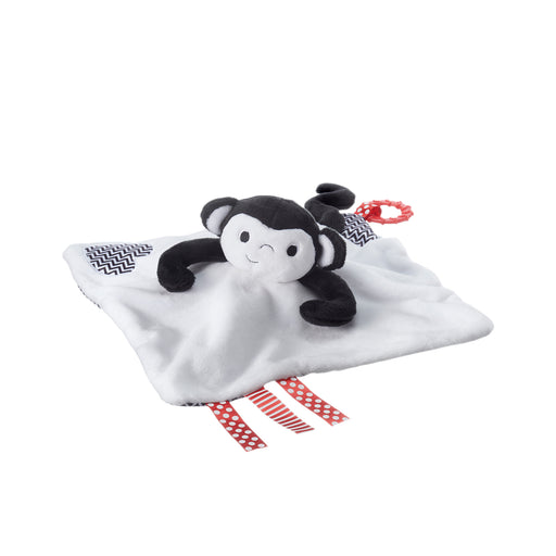Tommee Tippee 3 in 1 Lovey, Soft Security Blanket, Teether and Puppet – Marco Monkey, 0+ months - Preggy Plus