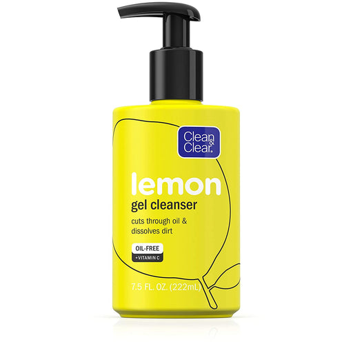 Clean & Clear® Lemon Gel Cleanser - Preggy Plus