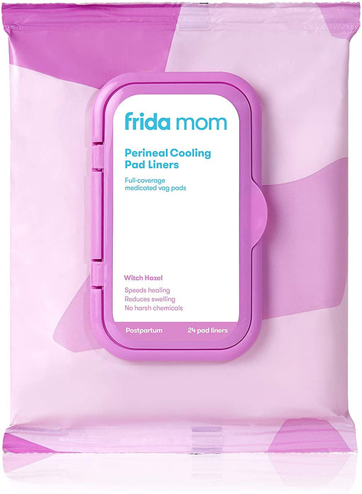 Frida Mom Witch Hazel Perineal Cooling Pad Liners - 24 Count - Preggy Plus