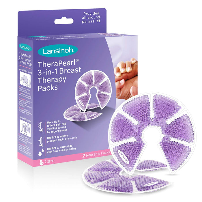 Lansinoh TheraPearl® 3-in-1 Breast Therapy - Preggy Plus