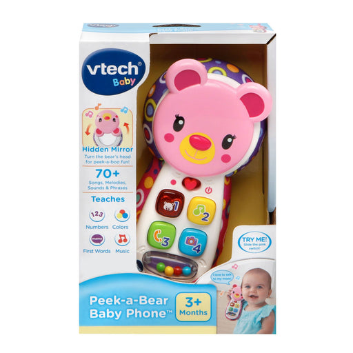 Vtech Peek and Play Phone, Pink