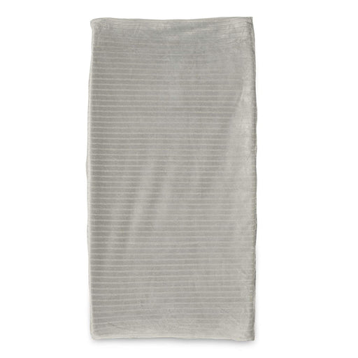 Boppy Changing Pad Cover, Gray Ribbed - Preggy Plus
