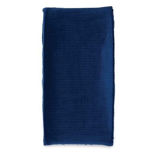 Boppy Changing Pad Cover, Navy Ribbed - Preggy Plus