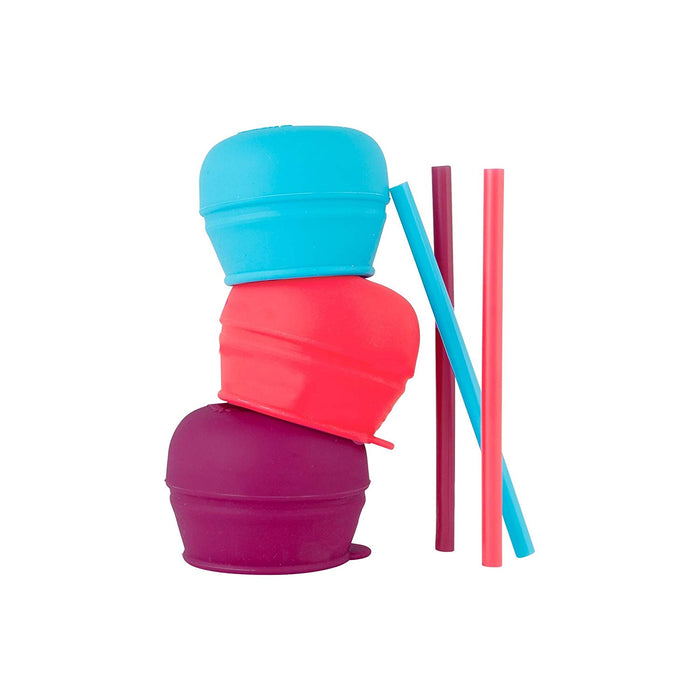Boon Snug Straw Set with Cup, Girl - Preggy Plus