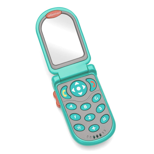 FLIP AND PEEK FUN PHONE™ TEAL - Preggy Plus