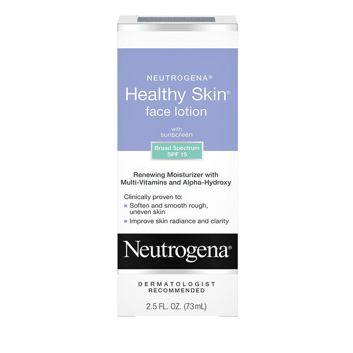 Neutrogena Healthy Skin Face Lotion with Sunscreen Broad Spectrum SPF 15 - Preggy Plus