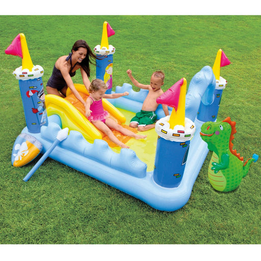 Intex Fantasy Castle Inflatable Play Center - Preggy Plus