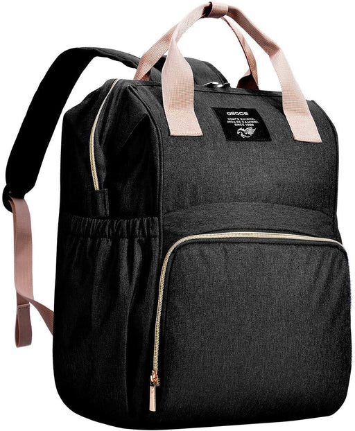 OSOCE Backpack Diaper Bag - Black - Preggy Plus