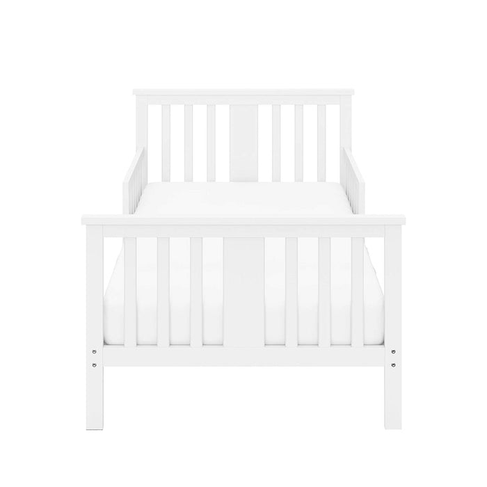 Storkcraft Mission Ridge Toddler Bed - White - Preggy Plus