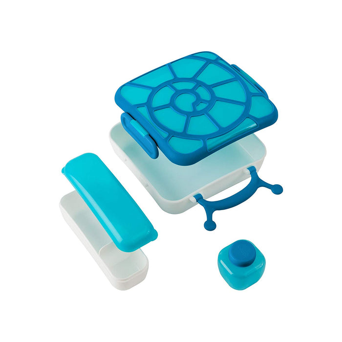 Boon Bento Lunch Box, Blue Snail - Preggy Plus