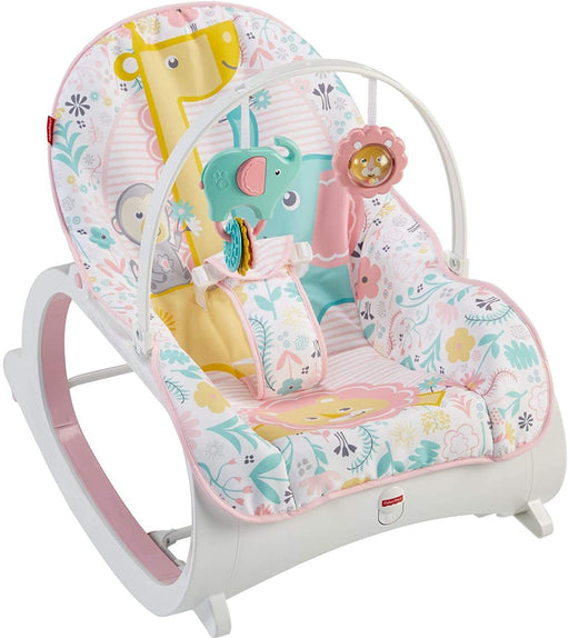 Fisher Price Infant-to-Toddler Rocker - Tiny Tea Time (DTH00) - Preggy Plus