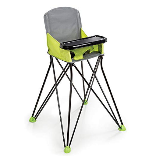 Summer Infant Pop and Sit Portable Highchair, Green - Preggy Plus