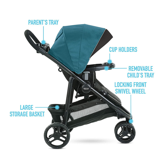 Graco Modes 3 Lite DLX Travel System, Remi - Preggy Plus