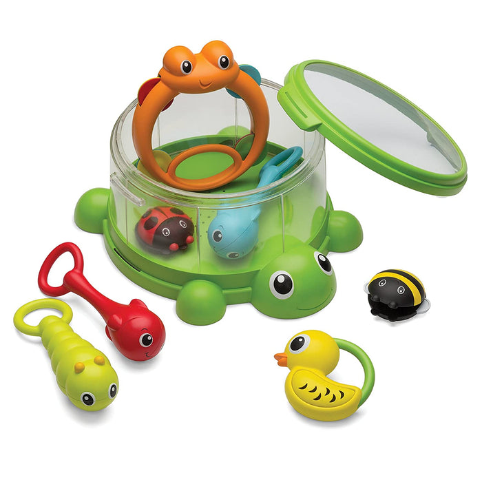 Infantino Turtle Cover Band 8-Piece Percussion Set - Preggy Plus