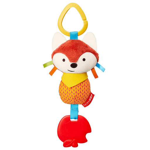 Bandana Buddies Chime & Teethe Toy, Fox - Preggy Plus