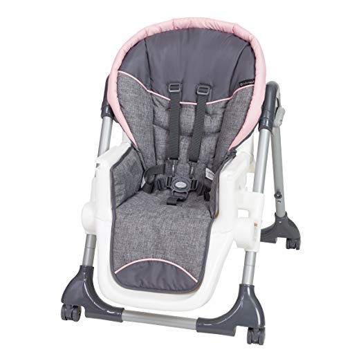 Baby Trend Dine Time 3-in 1 High Chair, Starlight Pink - Preggy Plus