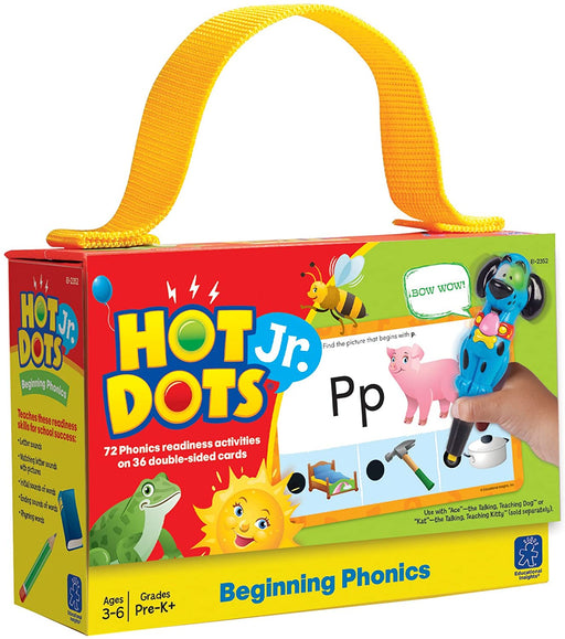 Hot Dots Jr. Beginning Phonics - Preggy Plus