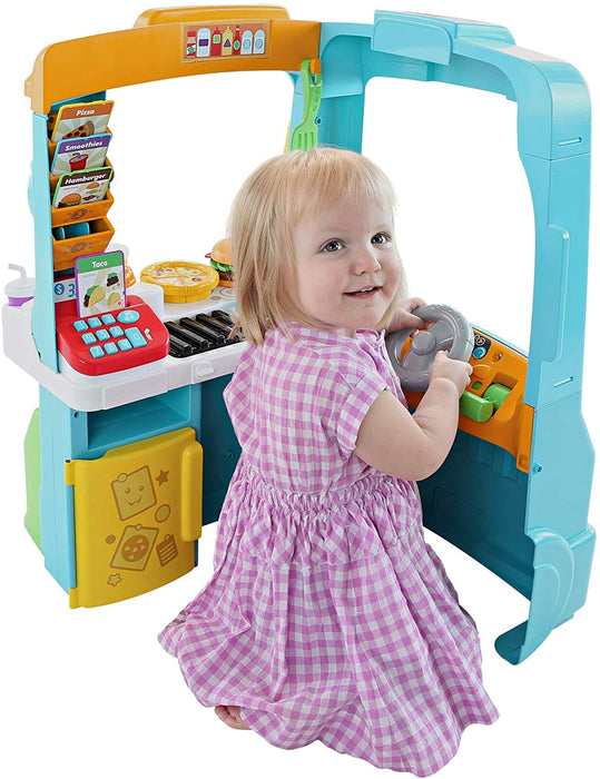 Fisher-Price Laugh & Learn Servin Up Fun Food Truck - Preggy Plus