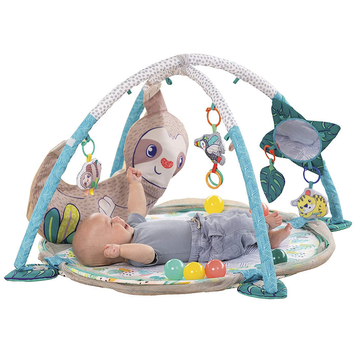 Infantino 4-in-1 Jumbo Baby Activity Gym & Ball Pit - Sloth - Preggy Plus
