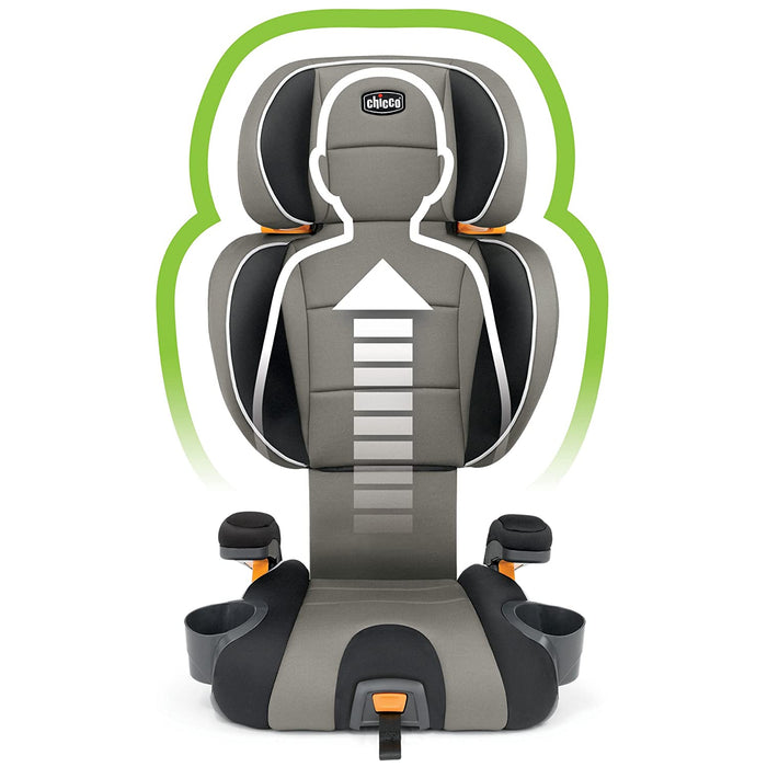 KidFit 2-in-1 Belt Positioning Booster Car Seat - Celeste - Preggy Plus