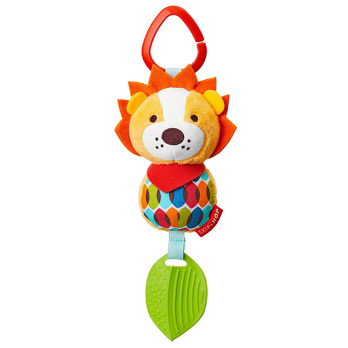 Bandana Buddies Chime & Teethe Toy, Lion - Preggy Plus