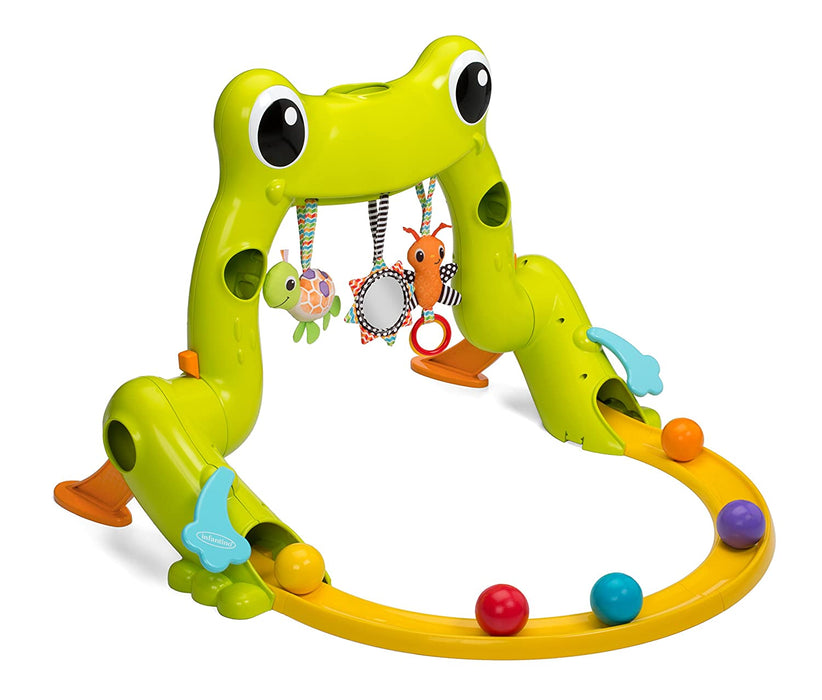 INFANTINO GREAT LEAPS INFANT GYM & BALL ROLLER COASTER - Preggy Plus