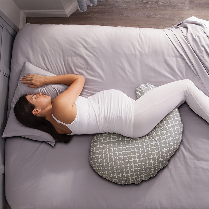 Boppy Pregnancy Support Pillow, Petite Trellis - Preggy Plus