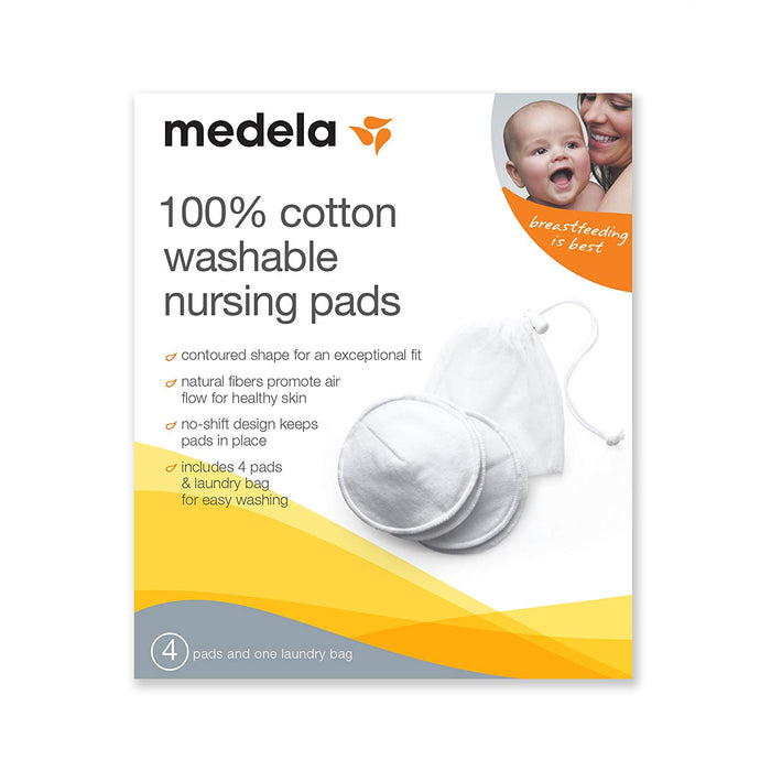 Medela Washable Nursing Pads - Preggy Plus