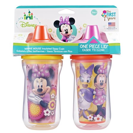 Minnie Mouse Insulated Sippy Cups (2 pack)