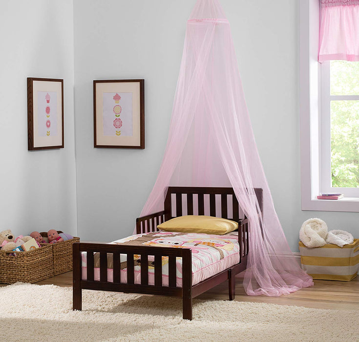 Delta Children Decorative Mesh Canopy, Pink - Preggy Plus