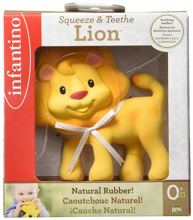 Infantino Squeeze & Teethe Lion™ - Preggy Plus