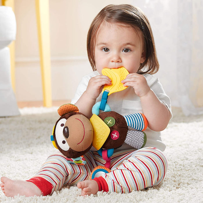 Bandana Buddies Activity Toy, Monkey - Preggy Plus