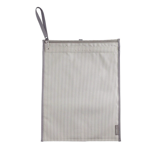 JJ Cole Wet/Dry Bag Gray Circle Stripe - Preggy Plus