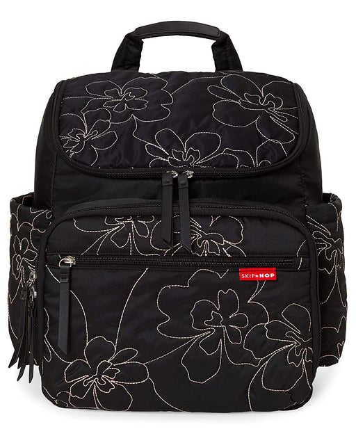 Skip Hop Forma Backpack Diaper Bag, Floral Stitch - Preggy Plus