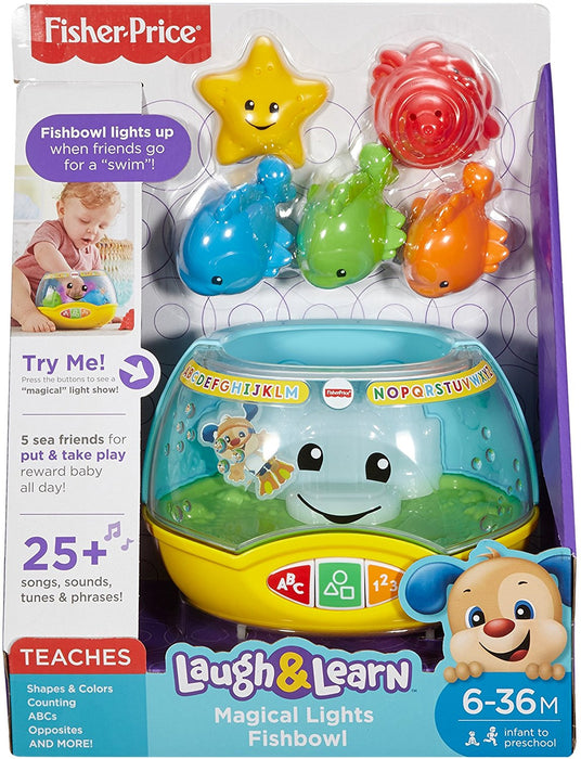 Fisher-Price Laugh & Learn Magical Lights Fishbowl - Preggy Plus