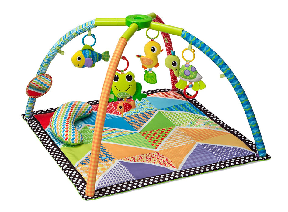Infantino Pond Pals Twist and Fold Activity Gym and Play Mat - Preggy Plus