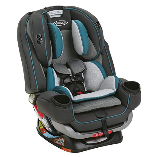 Graco 4Ever® Extend2Fit® 4-in-1 Car Seat, Seaton (4Ever & Extend2Fit in one!) - Preggy Plus