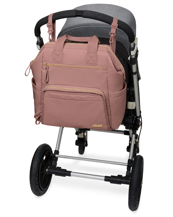 Skip Hop Mainframe Backpack - Dusty Rose - Preggy Plus