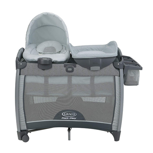 Graco Pack 'n Play® Quick Connect™ Portable & Vibrating Bouncer Playard, Raleigh - Preggy Plus