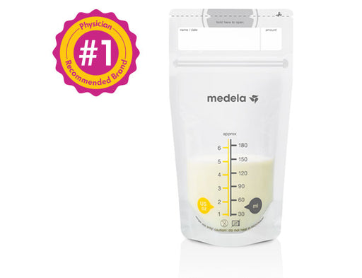 Medela Breastmilk Storage Bags - 25 Count - Preggy Plus