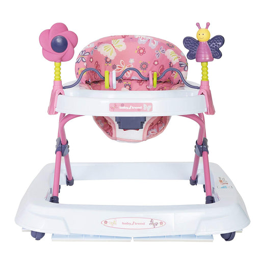 Baby Trend Trend 2.0 Activity Walker, Emily, Pink - Preggy Plus