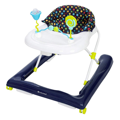 Baby Trend Trend 2.0 Activity Walker, Blue Sprinkles, Blue - Preggy Plus