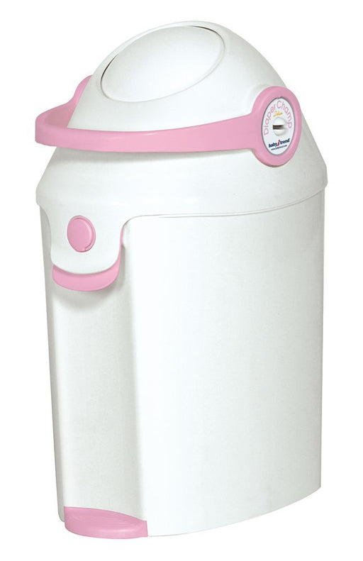 Baby Trend Diaper Champ - Pink - Preggy Plus