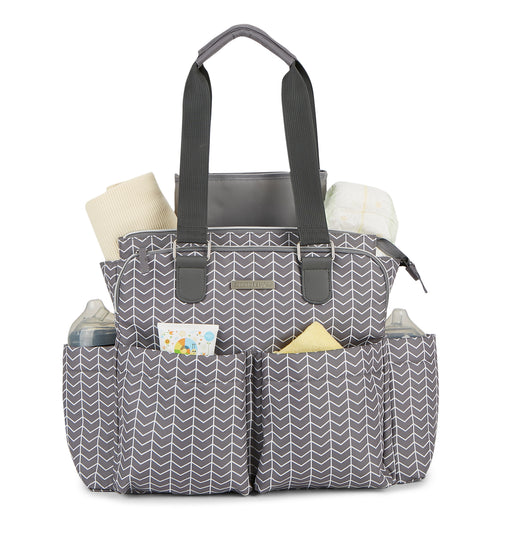 Bananafish Arrow Tote Diaper Bag - Preggy Plus